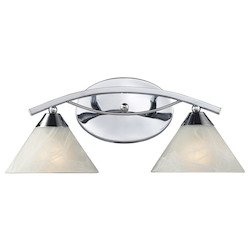 ELK Lighting Two Light Polished Chrome Vanity