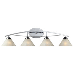 ELK Lighting Four Light Polished Chrome Vanity