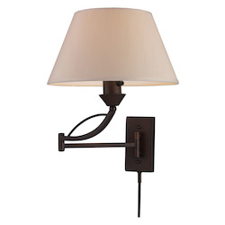 ELK Lighting One Light Aged Bronze Wall Light