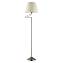 ELK Lighting 1- Light Floor Lamp In Satin Nickel