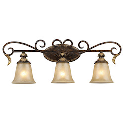 ELK Lighting Three Light Burnt Bronze Vanity