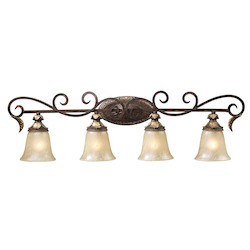 ELK Lighting Four Light Burnt Bronze Vanity