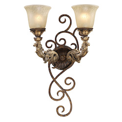 ELK Lighting Two Light Burnt Bronze Vanity