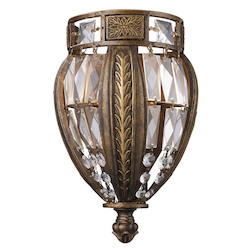 ELK Lighting One Light Antique Bronze Wall Light