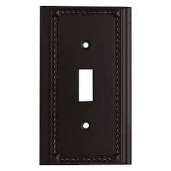 ELK Lighting Aged Bronze Lightswitch