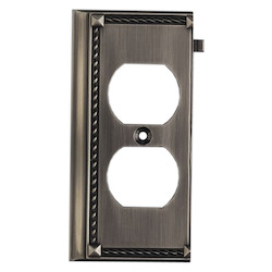 ELK Lighting Antique Platinum Outlet Cover