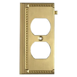 ELK Lighting Brass Outlet Cover