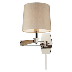 ELK Lighting One Light Polished Nickel Wall Light