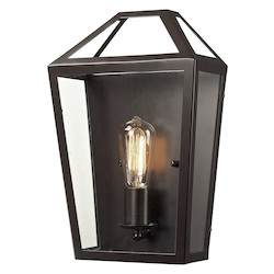 ELK Lighting Alanna Collection 1 Light Sconce In Oil Rubbed Bronze