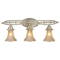 ELK Lighting Three Light Aged Silver Vanity