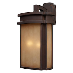 ELK Lighting Two Light Clay Bronze Wall Lantern