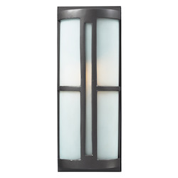 ELK Lighting One Light Graphite Outdoor Wall Light