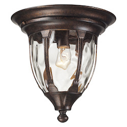 ELK Lighting One Light Regal Bronze Outdoor Flush Mount