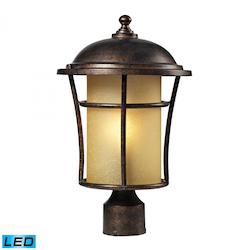 ELK Lighting One Light Regal Bronze Post Light
