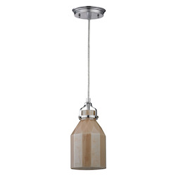 ELK Lighting Danica (Existing) Collection 1 Light Mini Pendant In Polished Chrome