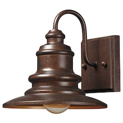 ELK Lighting One Light Hazelnut Bronze Wall Lantern