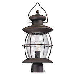 ELK Lighting Village Lantern - One Light Post Lantern