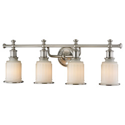 ELK Lighting Acadia Collection 4 Light Bath In Brushed Nickel