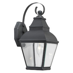 ELK Lighting One Light Charcoal Wall Lantern