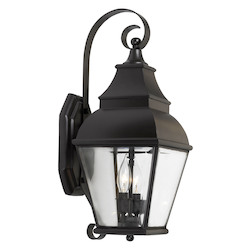ELK Lighting Two Light Charcoal Wall Lantern