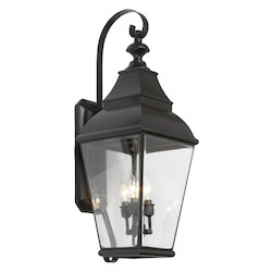 ELK Lighting Three Light Charcoal Wall Lantern