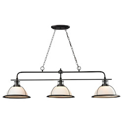 ELK Lighting Wilmington 3 Light Kitchen Island/Billiard Pendant