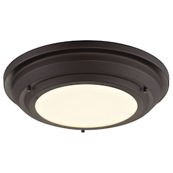 ELK Lighting Sonoma Collection Led Flushmount In Oil Rubbed Bronze