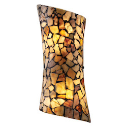 ELK Lighting Two Light Dark Rust Wall Light