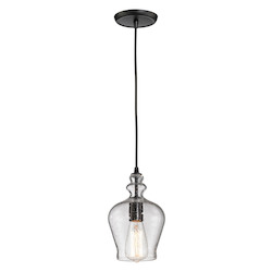 ELK Lighting Menlow Park 1 Light Mini Pendant