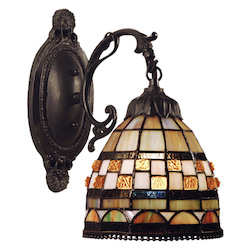 ELK Lighting One Light Classic Bronze Wall Light