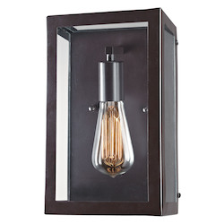 ELK Lighting One Light Bronze Wall Light