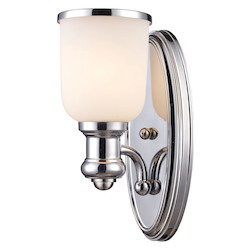 ELK Lighting One Light Polished Chrome Wall Light