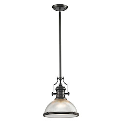 ELK Lighting Chadwick (Existing) Collection 1 Light Pendant In Oil Rubbed Bronze