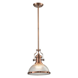 ELK Lighting Chadwick (Existing) Collection 1 Light Pendant In Antique Copper
