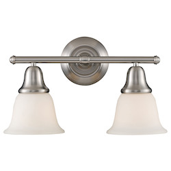 ELK Lighting Two Light Brushed Nickel Vanity