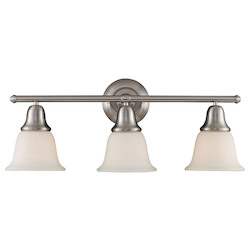 ELK Lighting Three Light Brushed Nickel Vanity