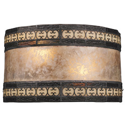 ELK Lighting Two Light Tiffany Bronze Wall Light