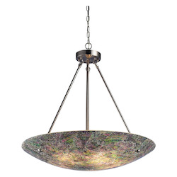 ELK Lighting Five Light Satin Nickel Up Pendant