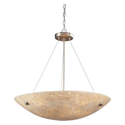 ELK Lighting Six Light Satin Nickel Up Pendant