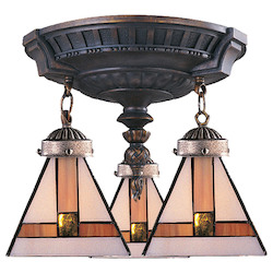 ELK Lighting Mix-N-Match Semi Flush Mount