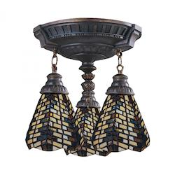 ELK Lighting Mix-N-Match 3-Light Semi-Flush Mount