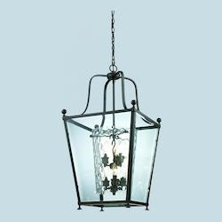 Z-Lite Six Light Bronze  Foyer Hall Pendant