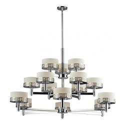 Z-Lite Chrome Elea 15 Light 3 Tier Chandelier