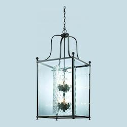 Z-Lite Eight Light Bronze  Foyer Hall Pendant