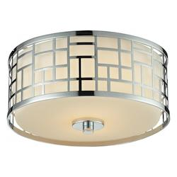 Z-Lite 2 Light Flush Mount Light