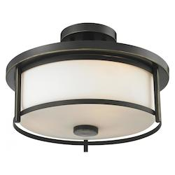 Z-Lite 2 Light Semi Flush Mount