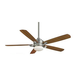 Fanimation One Light Nickel Ceiling Fan