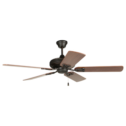 Craftmade Aged Bronze Classic 52in. 5 Blade Indoor Ceiling Fan - Blades Included