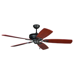 Craftmade Aged Bronze Classic 56in. 5 Blade Indoor Ceiling Fan - Blades Included
