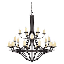 Savoy House Elba 24 Light 3 Tier Candle Style Chandelier